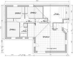 plan maison simple 3 chambres plan de maison plain pied 3 chambres gratuit awesome plan maison