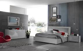 Modern Platform Bed With Lights - athos gray concrete italian modern platform bed contemporary beds