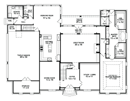 5 bedroom house floor plans 5 bedroom house plans single story 1 floor house plan 5 bedroom