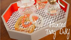 diy painted tray recreate this at home with a diy kit youtube