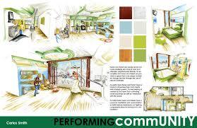 presentation board layout inspiration interior design presentation board templates carlos iar blog