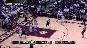 weber state at montana big sky basketball highlights youtube