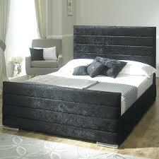 velvet upholstered bed frame smartwedding co