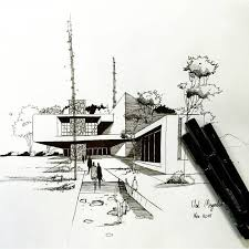 271 best freehand images on pinterest architectural drawings