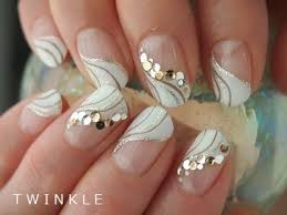 cute kinda modern take on the french tip really adorable nails