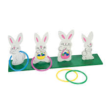 easter games bunny ring toss game ring toss tossed and bunnies