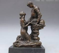 greek mythology statues greek mythology bronze marble maiden impetrate warrior statue in