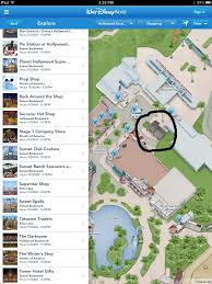Map Of Hollywood Studios Sid Cahuenga U0027s At Disney U0027s Hollywood Studios Has Closed