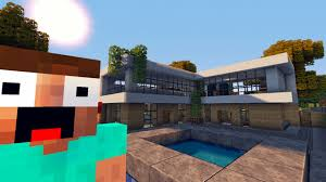 modern house 3 tutorial beach town project minecraft project