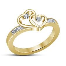 buy design shape ring white rd cz in sterling