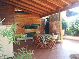 home garden near the sea villa with a veranda and outdoor shower