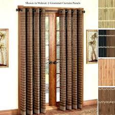 Patio Door Net Curtains Curtains For Patio Doors Brokenshaker