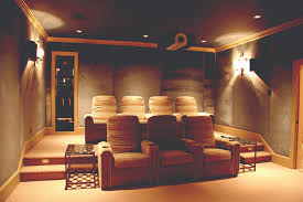 Home Movie Theater Decor Ideas by Designing Home Theater Cool Home Theater Room Design With