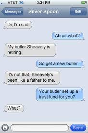 Silver Spoon Meme - 1138326 butler depressed diamond tiara meme misunderstanding