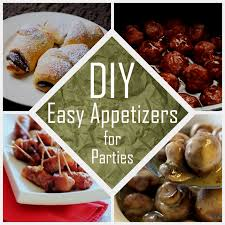 Easy Appetizers Nine Red Party Time Easy Appetizers