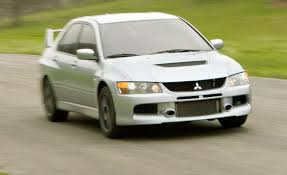 2006 mitsubishi lancer evolution ix first drive review car and