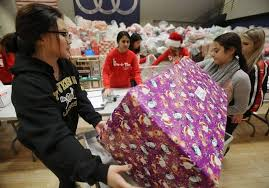 stevenson students step up to help needy families with give a thon