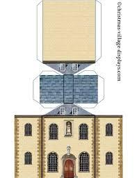 printable model house template cardboard model house template printable model card houses
