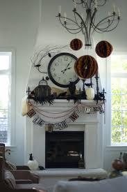 enticing fireplace halloween inspiring design presents impressive