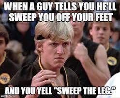 Karate Kid Meme - karate kid johnny imgflip