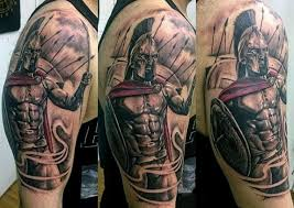 collection of 25 spartan tattoo