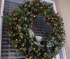 large outdoor lighted christmas wreaths 38741 astonbkk com