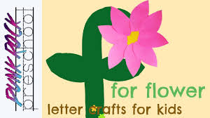 letter f for flower fun abc crafts for kids best letter