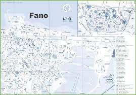 Urbino Italy Map by Fano Maps Italy Maps Of Fano