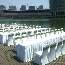 spandex chair covers rental check this used folding chair covers universal white spandex