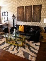Black And Brown Home Decor Wonderful Home Decorating Ideas Zebra Print Images Simple Design