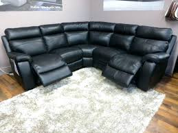Corner Recliner Leather Sofa Marvelous Black Leather Sofa Recliner Design Gradfly Co