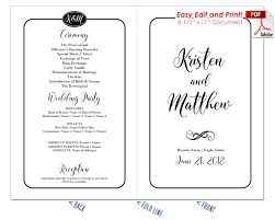 simple wedding program wedding fan templates 19 colors at crafty sticks