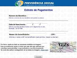 www previdencia gov br extrato de pagamento inss consulta situação do benefício consulta inss benefício