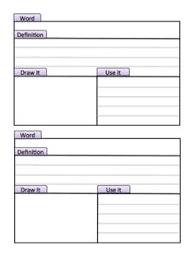 free dictionary skill sheet for vocabulary words dictionary