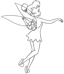 tinkerbell coloring pages 100 anythings