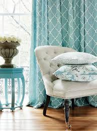 Fabric For Kitchen Curtains Best 25 Aqua Curtains Ideas On Pinterest Diy Green Bathrooms