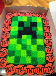 minecraft cupcake ideas best 25 creeper cake ideas on easy minecraft cake