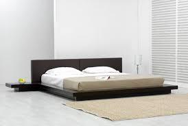 bedroom design modern platform bed frame queen useful intended for