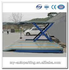 used electric lift table hydraulic scissor lift table for car storage used hydraulic car lift