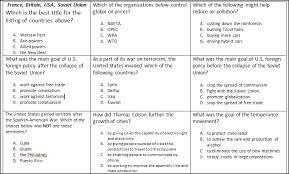 fifth grade social studies worksheets printables fifth grade