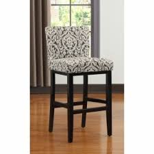 30 Inch Bar Stool With Back Upholstered Bar Stool Darby Home Co Cynthia Faux Fur Upholstered