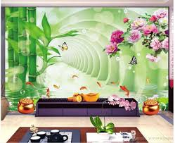 3d stereo space bamboo lotus peony fish tv wall mural 3d wallpaper 3d stereo space bamboo lotus peony fish tv wall mural 3d wallpaper 3d wall papers for