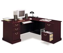 Wood Corner Desks For Home Furniture Black Corner Desk With Shelves Home Desk Furniture