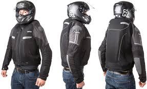 vented leather motorcycle jacket helite summer motorcycle jacket vented with turtle airbag system