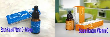 Serum Vitamin C Wajah manfaat serum wajah vitamin c collagen hanasui bpom by jaya mandiri