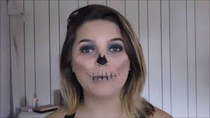 Skeleton Halloween Makeup by Halloween Makeup Tutorial Skeleton Makeup Youtube
