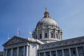 Why Are The Flags Flying Half Mast Sf Flags At Half Mast Today For Rose Pak Sanfrancisco