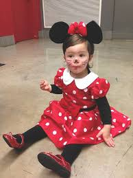 Halloween Costume Minnie Mouse 25 Baby Minnie Mouse Costume Ideas Minnie