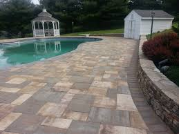 Pool Patio Pavers by Exterior Design Traditional Exterior Design With Wood Siding And