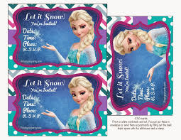 frozen colored free printable party kit parties